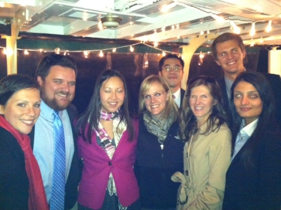 Fun Times with the Young Lawyers Section last night on the Genesee