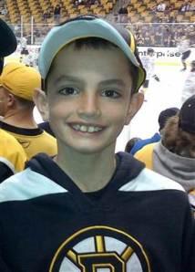 Photo courtesy of AP. Martin Richard, 8, was killed Monday afternoon when an explosion tore through the Boston Marathon.