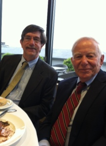 Past Pres Dinner Bryan and Judge Rosenbloom