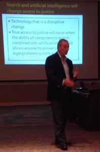 Fred Ury, Esq., talking about future trends in the profession.