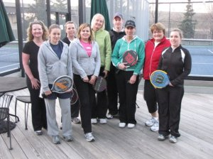 Paddle Tennis Night at Midtown circa 2010.