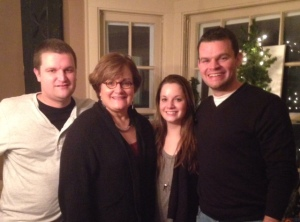 Mary and Family at Christmastime
