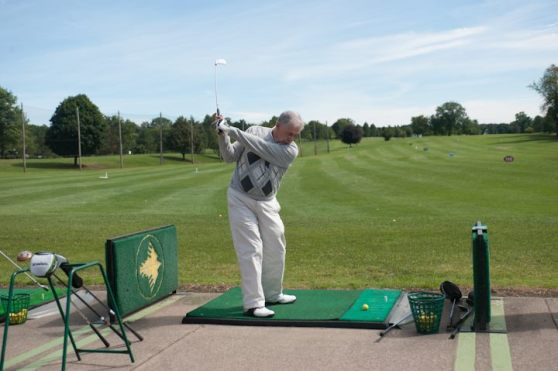 Playing golf Blog