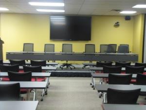 CLE Room Speakers Table