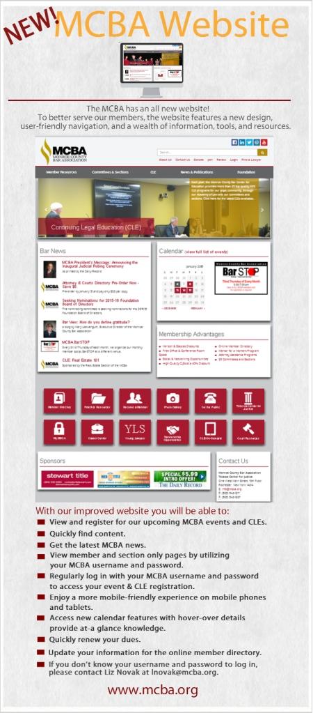 New Website Launch 010815