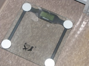 The dreaded scale...
