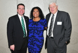 The Hon. Craig Doran, the Hon. Leticia Astacio and the Hon. John Owens.