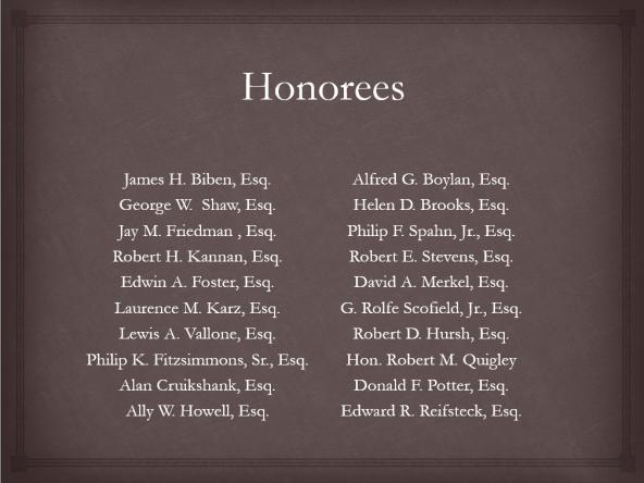 memorial honoree
